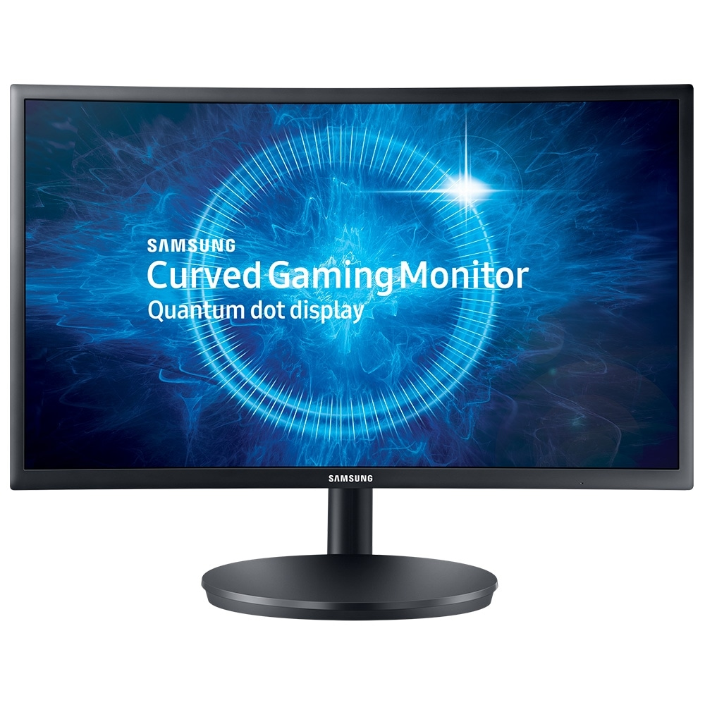 "Monitor 23.5"" LED Full HD LC24FG70FQLXZD HDMI Game Mode Tela Curva - Samsung"