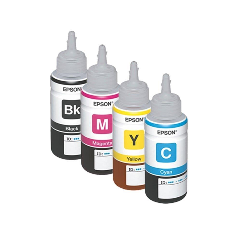 Kit - Refil de Tinta Epson 664 - Todas as cores