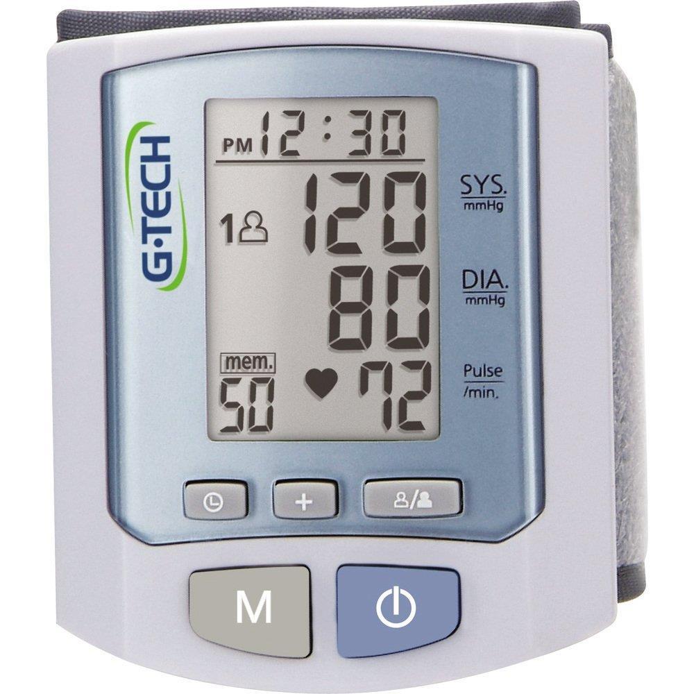 Monitor Pressão Arterial Digital Pulso RW450 com 100 Memórias - G-Tech