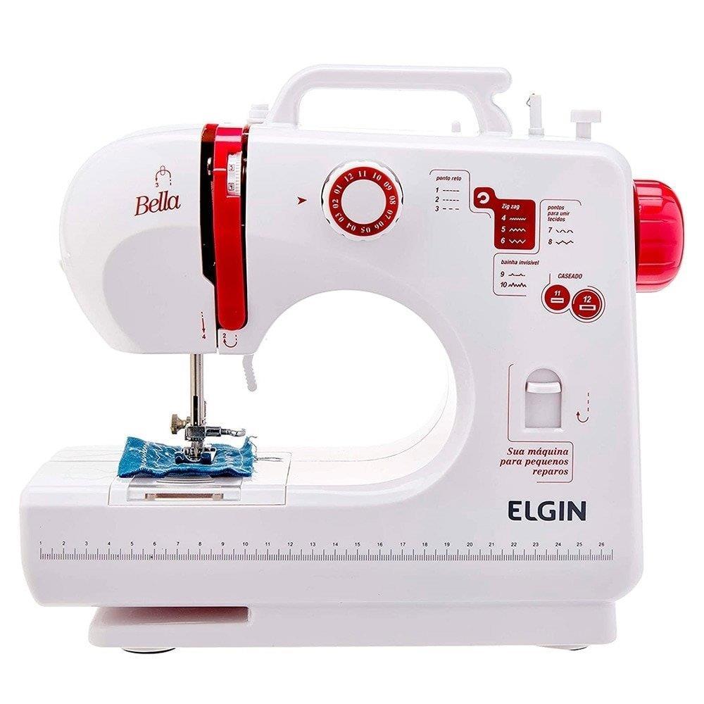 Máquina de Costura Portátil Bella Bivolt - Elgin