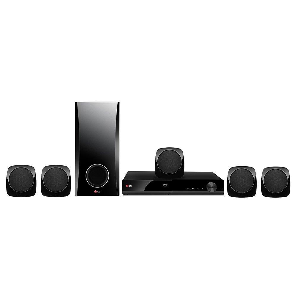Home Theater DH4130S 5.1 Canais, USB MP3/WMA, Portable-in, Função Karaokê,...