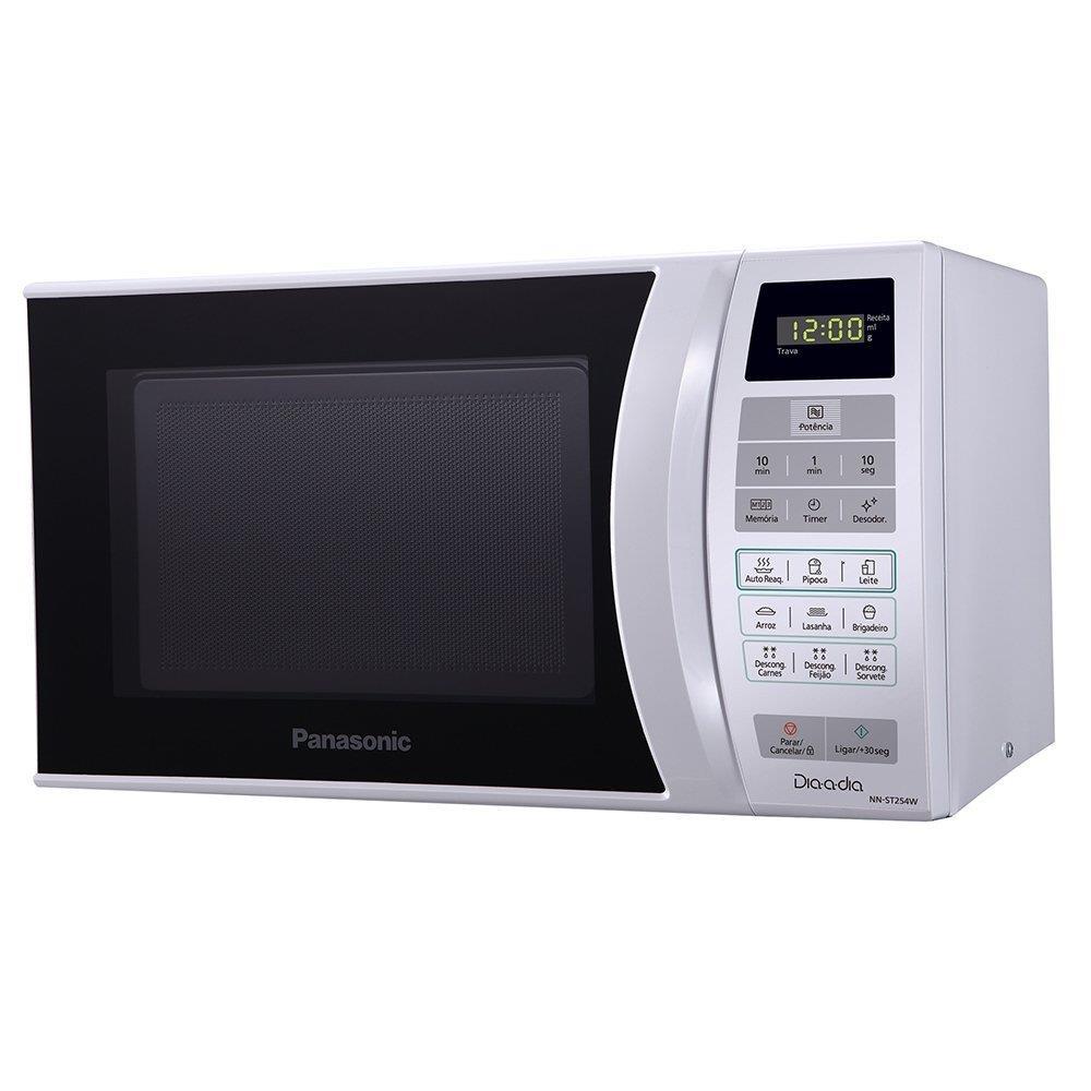 Micro-ondas Panasonic NN-ST254WRUN 21 Litros Branco