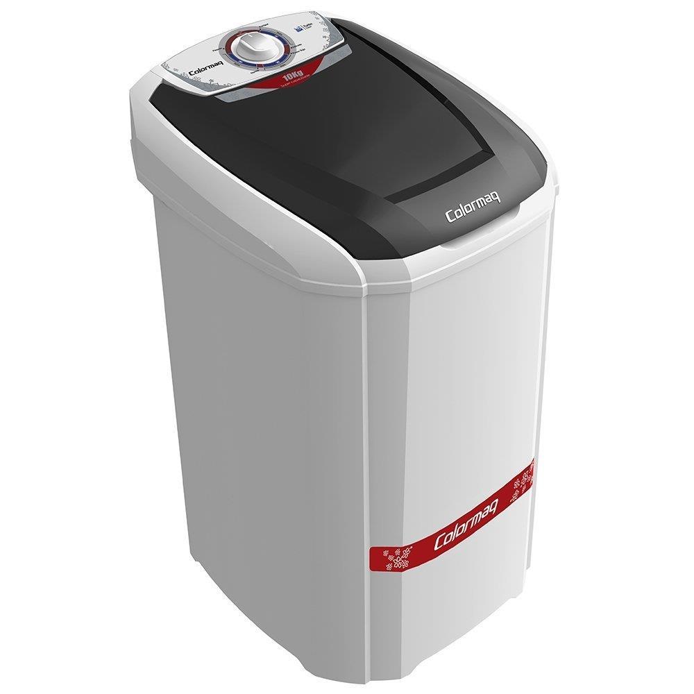 Lavadora de Roupas Semi-Automática Colormaq 10 Kg LCB10 Branca