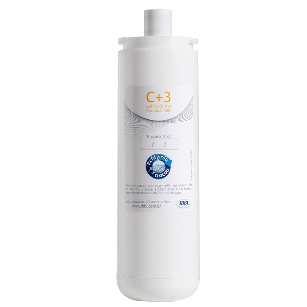 Filtro de Água C3 para Bebedouro e Purificador - IBBL