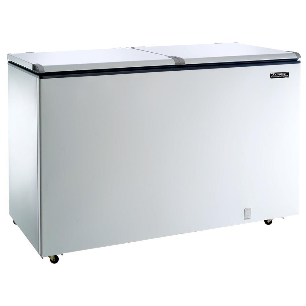 Freezer e Refrigerador Horizontal (Dupla Ação) 2 Tampas 439 Litros EFH500 -...