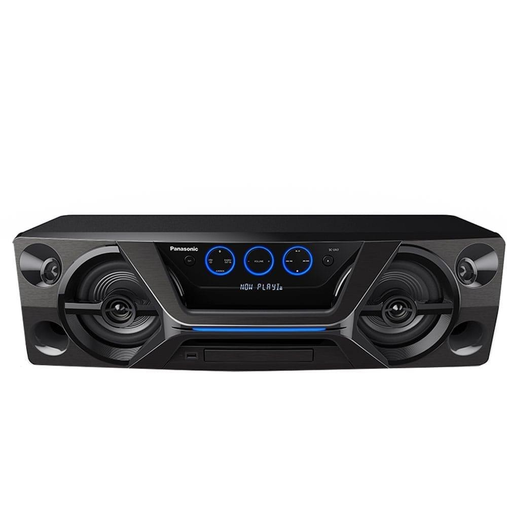 Mini System SC-UA3LB-K Bluetooth, Aplicativo Panasonic MAX JUKE e Wireless...
