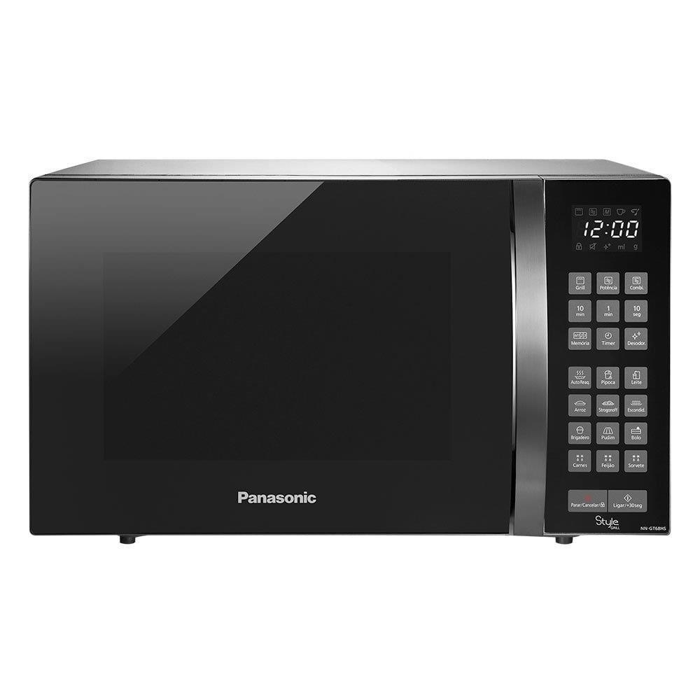 Micro-ondas Panasonic NN-GT68HSRUN 30 Litros Inox