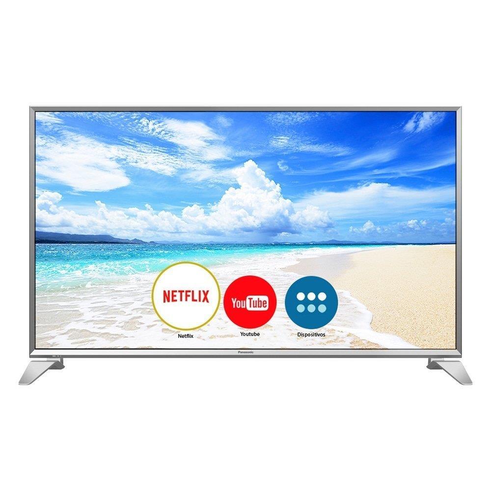 "Smart TV LED 43"" Panasonic TC-43FS630B Full HD com Wi-Fi, 2 USB, 3 HDMI, Hexa..."