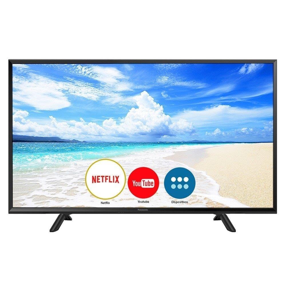 "Smart TV LED 40"" Panasonic TC-40FS600B Full HD, 1 USB, 2 HDMI, My Home Screen..."