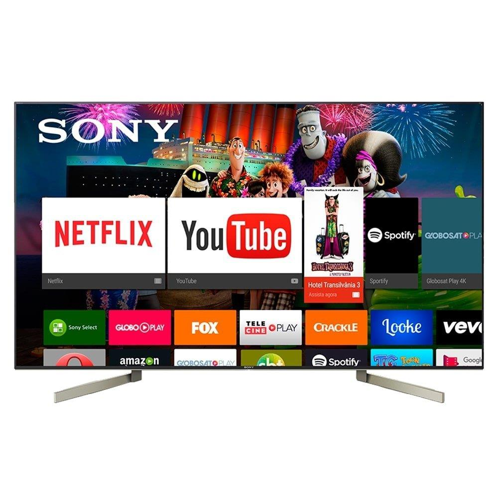 "Smart TV LED 75"" Sony  XBR-75X905F 4K HDR com Android, Wi-Fi, 3 USB, 4 HDMI,..."