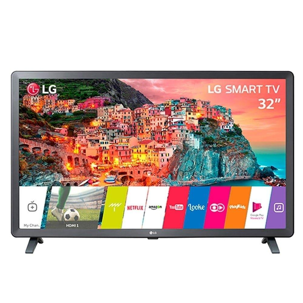 "Smart TV LED 32"" LG 32LK615BPSB HD com Wi-fi, 2 USB, 2 HDMI, WebOS 4.0 e Time..."