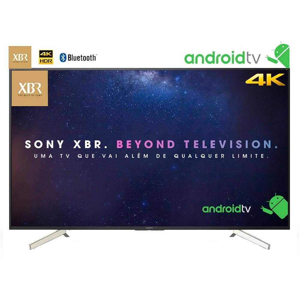 "Smart TV LED 70"" Sony XBR-70X835F 4K HDR com Wi-Fi 3 USB 4 HDMI MotionFlow..."