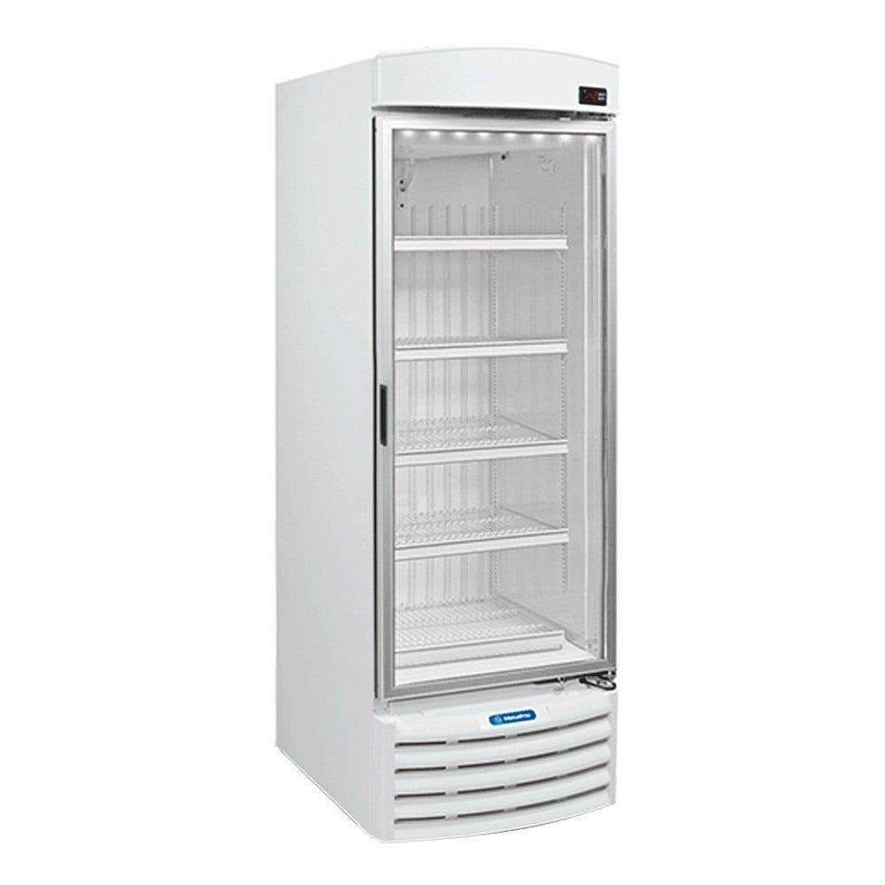 Freezer Vertical Porta de Vidro para Sorvetes e Congelados 497 Litros VF50F 220V