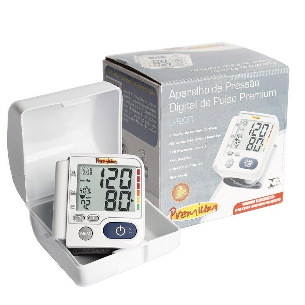 Foto 2 - Monitor de Pressão Arterial G-Tech LP200 Premium Digital de Pulso