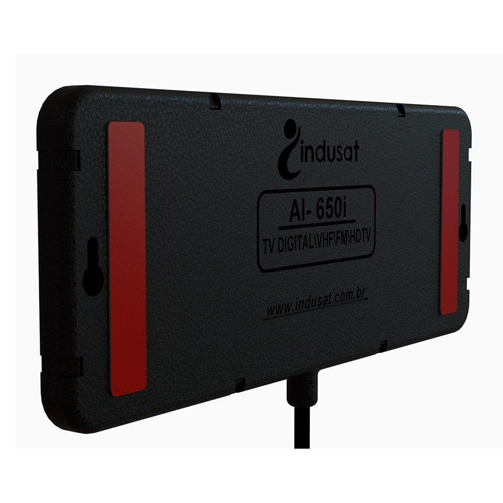 Antena Indusat Interna Digital Slim AI-650i, Cabo 1,5 Metros