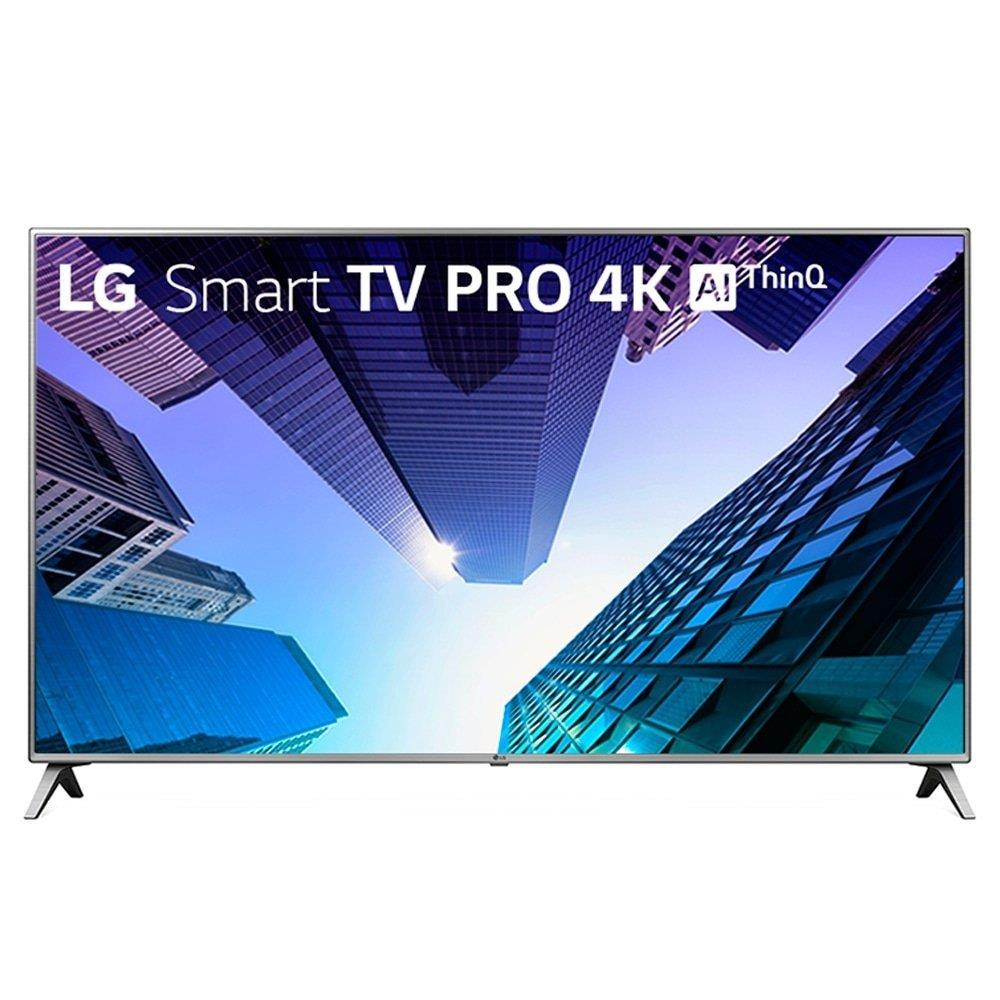"""Smart TV LED 75"""" LG 75UK651C 4K Ultra HD com Wi-Fi,  2 USB, 4 HDMI, Time..."""