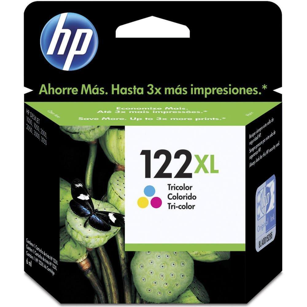 Cartucho Original HP 122XL CH564HB Color