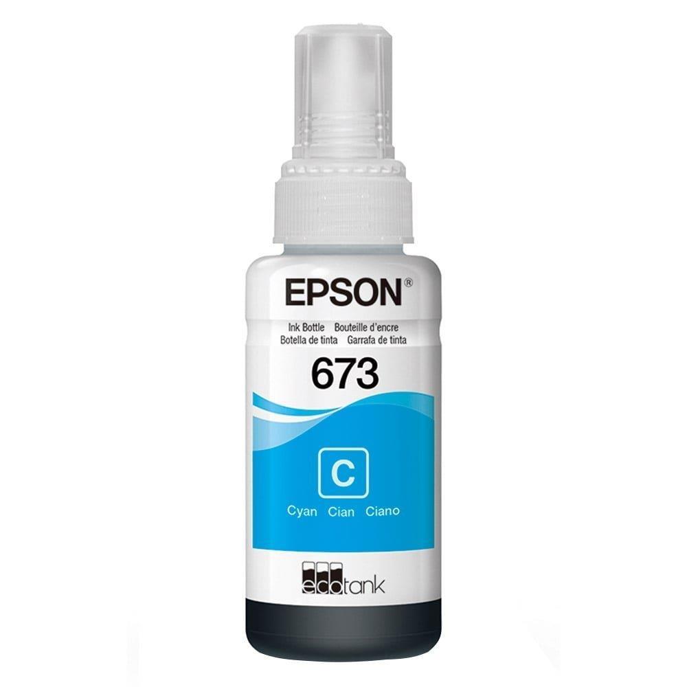 Refil de Tinta Epson 673 Ciano