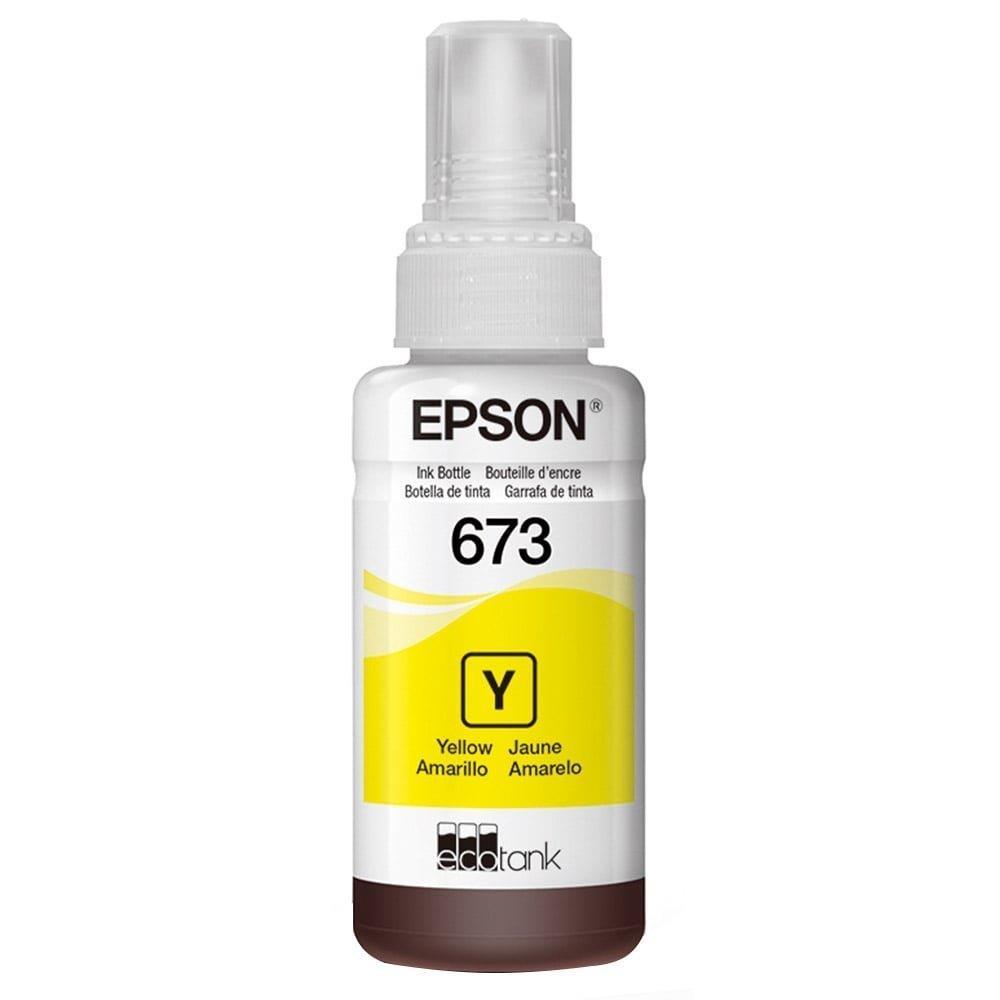 Refil de Tinta Epson 673 Amarelo
