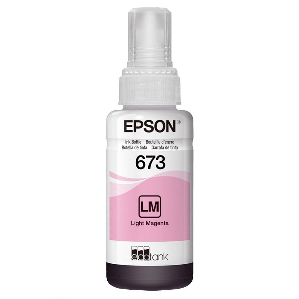 Refil de Tinta Epson 673 Magenta Claro