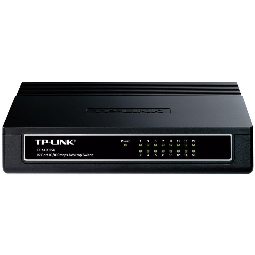 Switch SF1016D 16 Portas, Fast Ethernet 10/100Mbps - TP Link