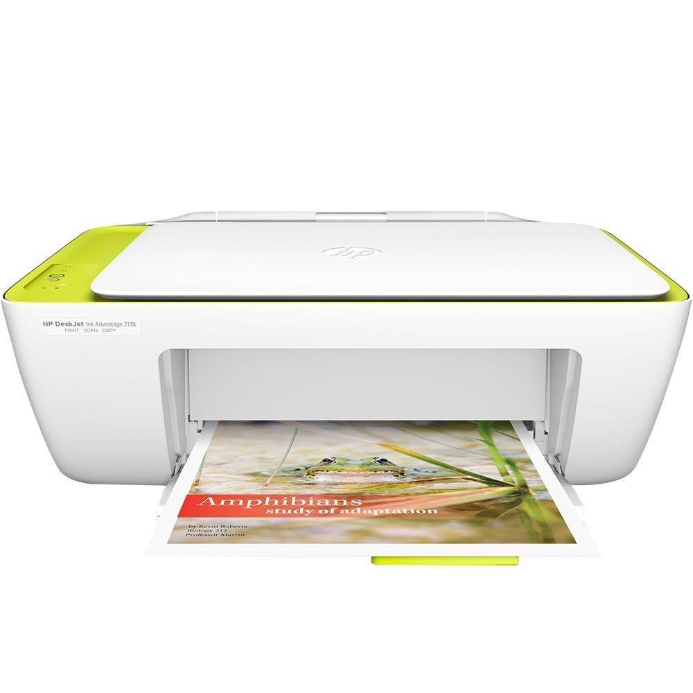 Foto 1 - Multifuncional HP DeskJet Ink Advantage 2136 All in One, Bivolt
