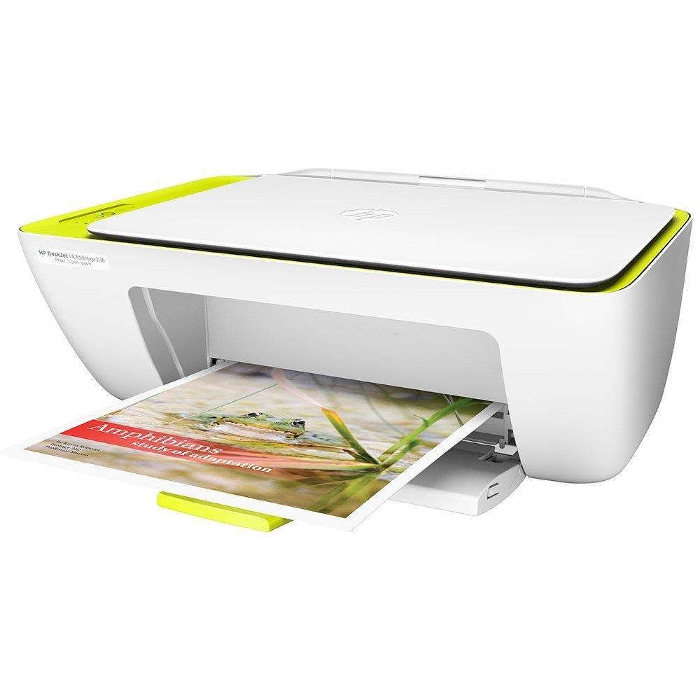 Foto 2 - Multifuncional HP DeskJet Ink Advantage 2136 All in One, Bivolt