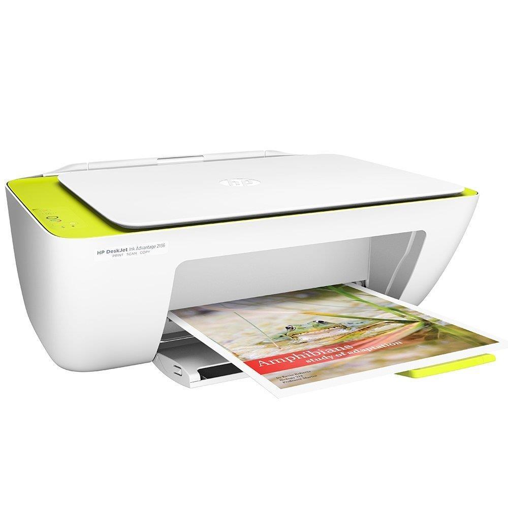 Foto 3 - Multifuncional HP DeskJet Ink Advantage 2136 All in One, Bivolt