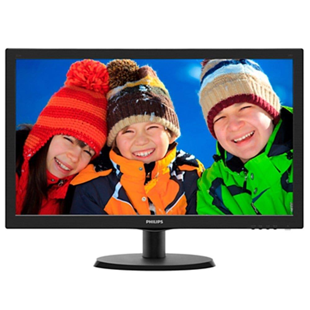 "Monitor 21,5"" LED Full HD 223V5LHSB2 Widescreen VGA HDMI - Philips"