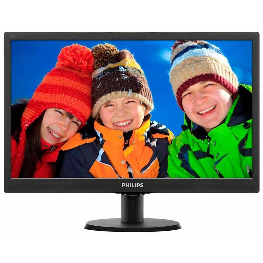 "Monitor 23,6"" LED Full HD 243V5QHABA  Widescreen VGA HDMI DVI - Philips"