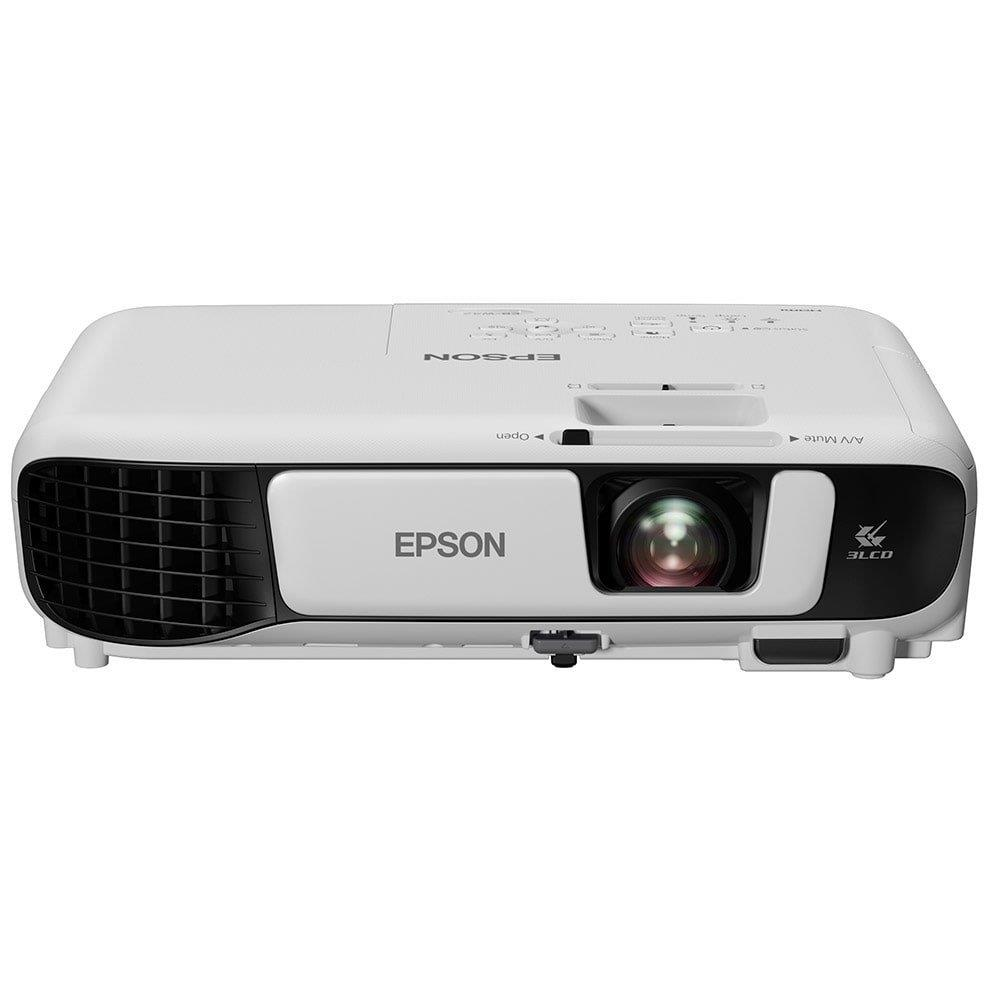 Projetor Epson W42+ 3LCD Powerlite WXGA HDMI 3600 Lumens Bivolt