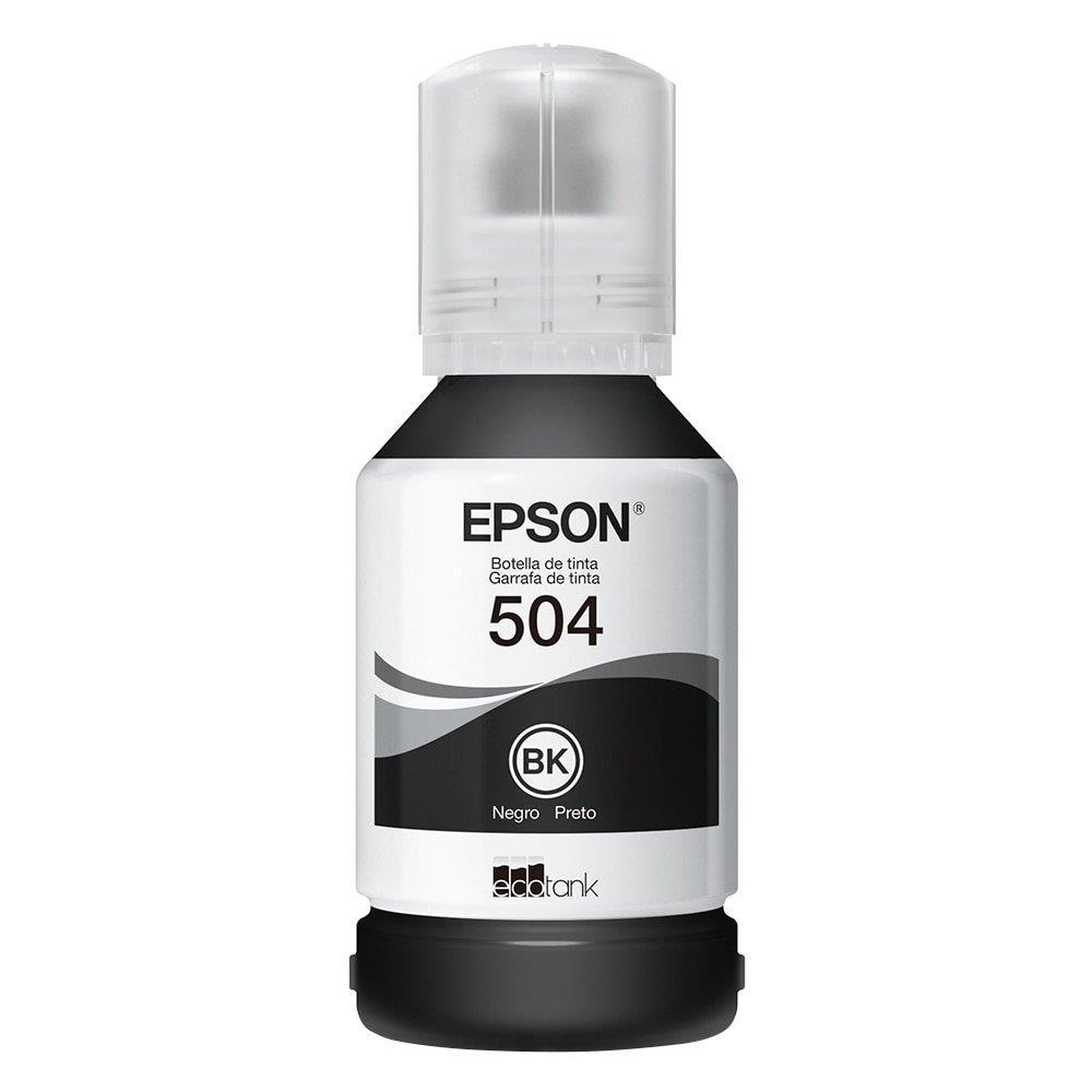 Refil de Tinta Epson 504 Preto