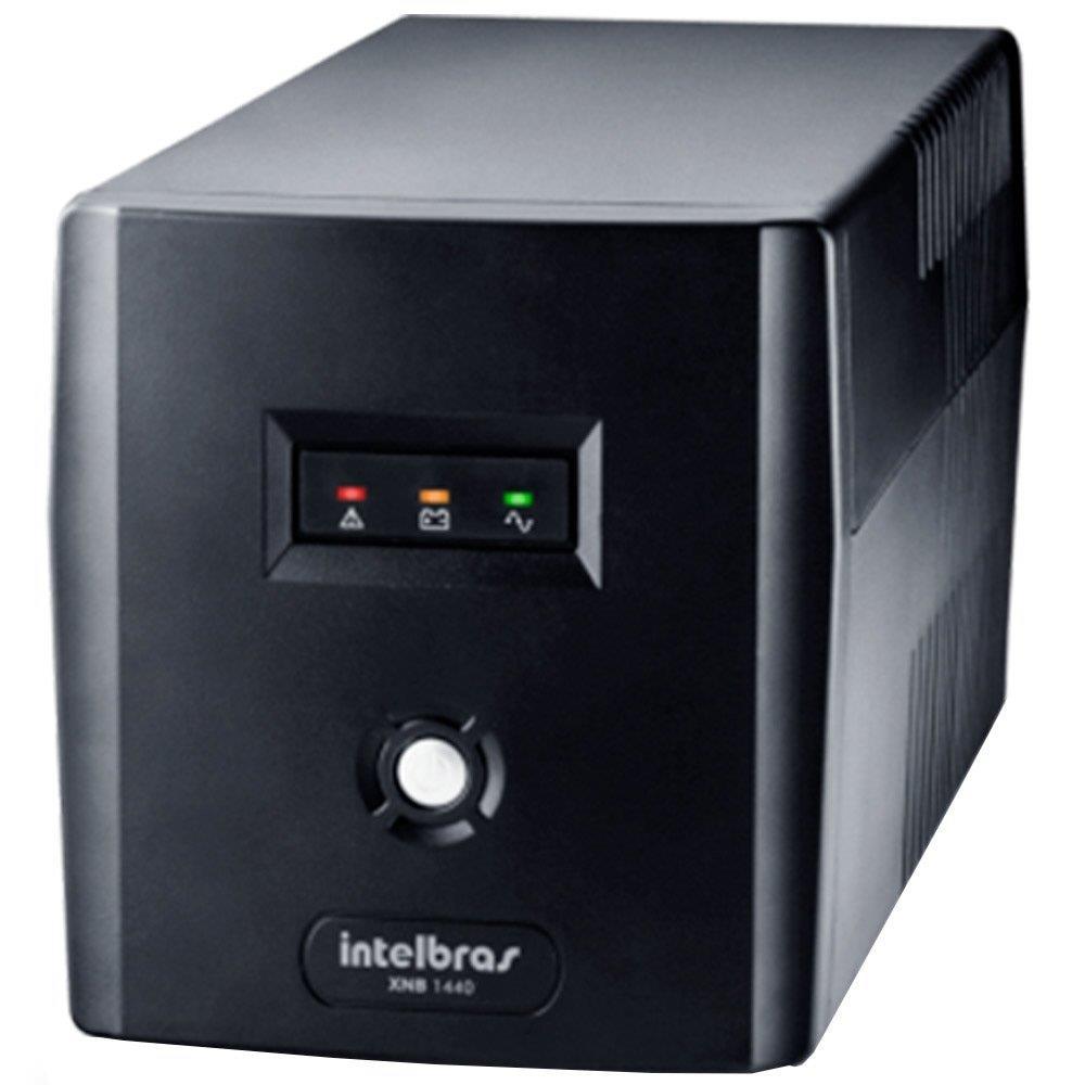 Nobreak Intelbras XNB 1440VA 6 Tomadas Preto Entrada/Saída  220V