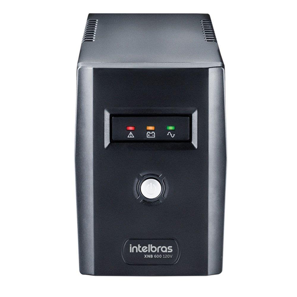 Nobreak Intelbras XNB 600VA 4 Tomadas Preto Entrada/Saída 110V