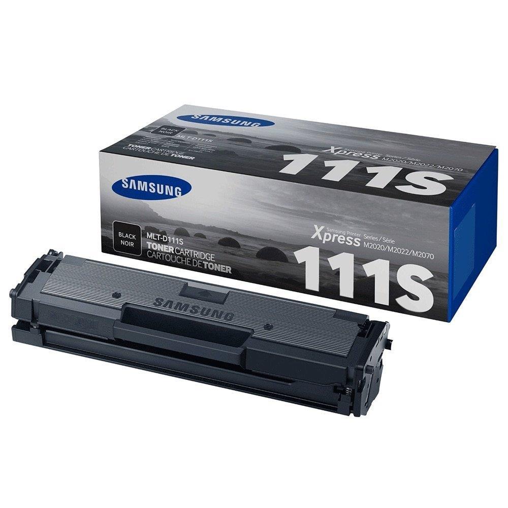 Toner Samsung MLT-D111S Preto. Ref:P/M2020/W M2070/W/FW