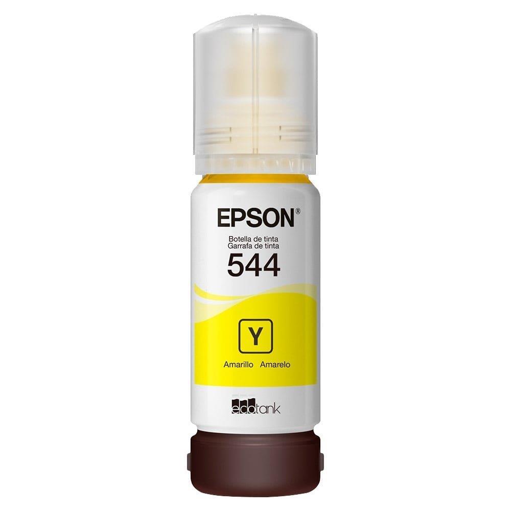 Refil de Tinta Epson T544 Amarelo
