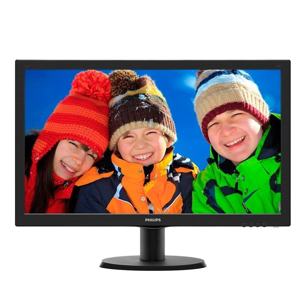 "Monitor 27"" LED Full HD 273V5LHAB Widescreen, SmartControl Lite VGA, HDMI, DVI..."