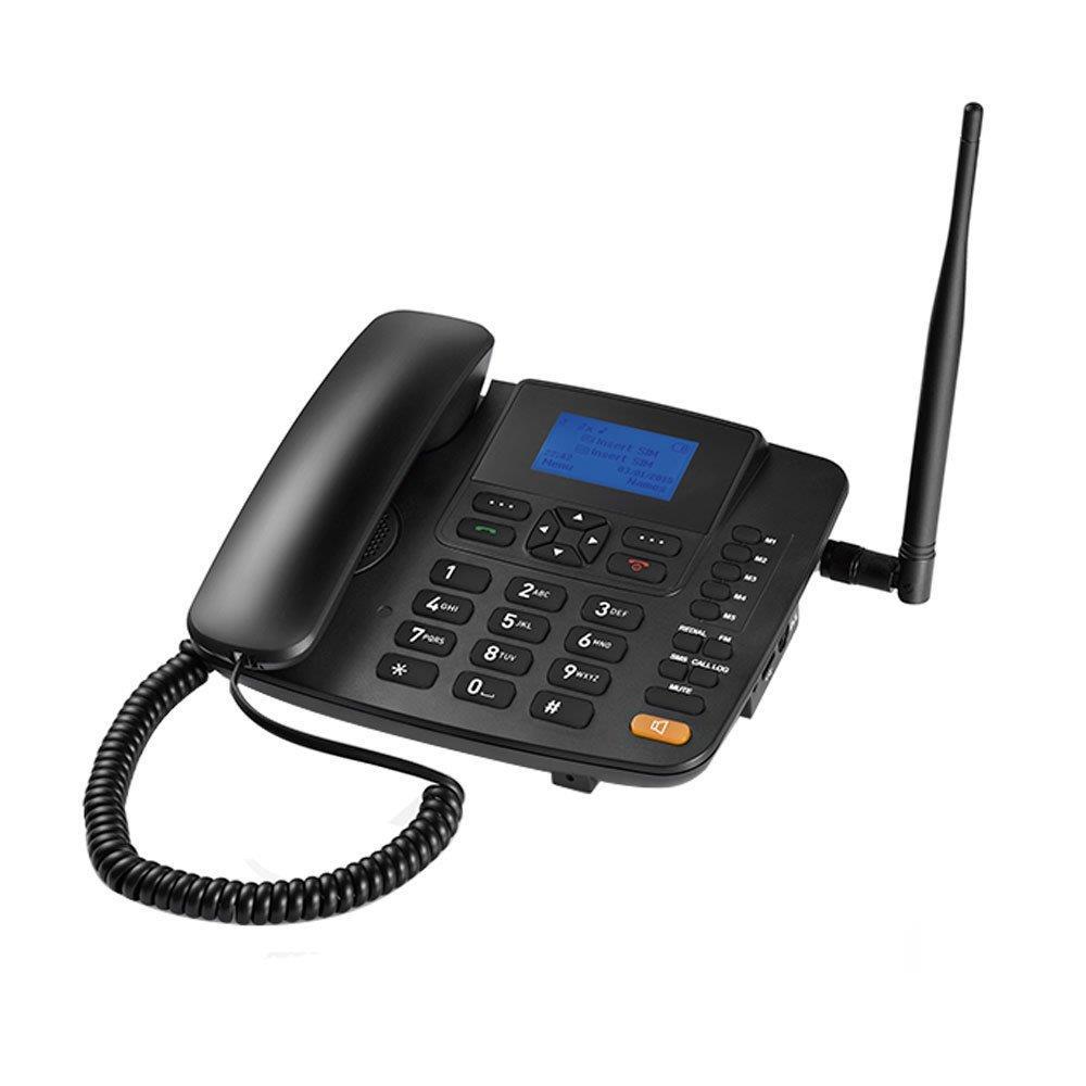 Telefone Celular Fixo RE504 3G Função Modem 3G Preto - Multilaser