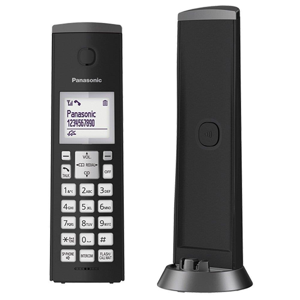 Telefone sem Fio KX-TGK210LBB Preto com Identificador de Chamadas + Viva Voz -...