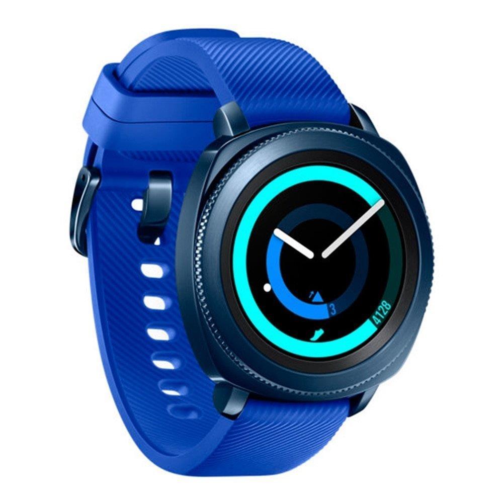 """Smartwatch Samsung Gear Sport Azul, Tela 1.2"""", AMOLED, 4GB, Wi-Fi, Bluetooth e..."""