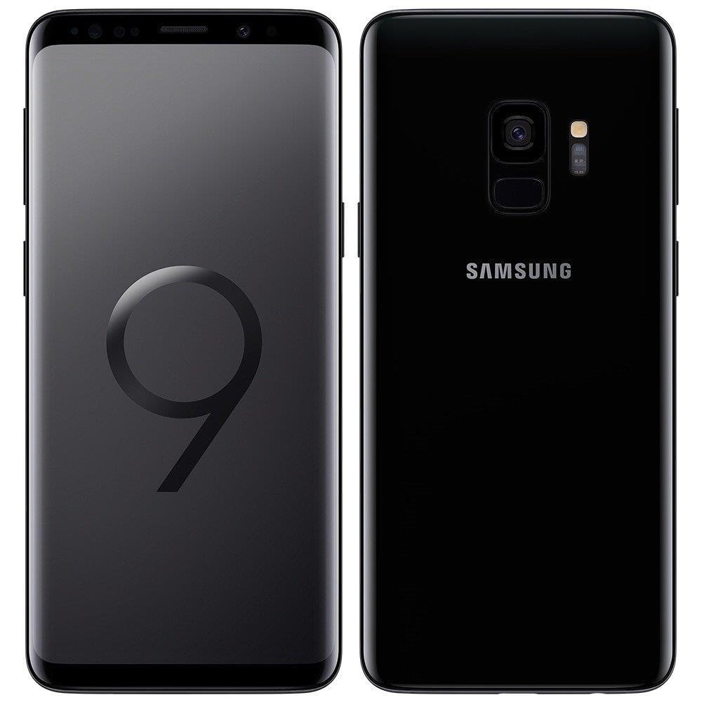 "Smartphone Samsung Galaxy S9, Dual Chip, Preto, Tela 5.8"" 4G+WiFi+NFC, Android..."