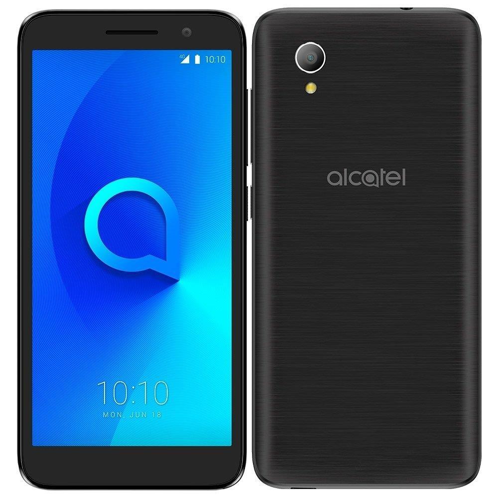 """Smartphone Alcatel 1 Dual Chip, Preto, Tela 5"""", 4G+Wifi, Android Oreo Go, 8MP,..."""