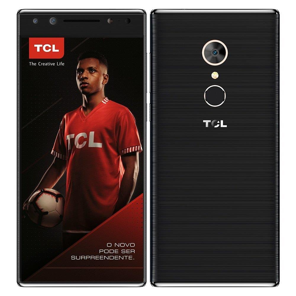 """Smartphone TCL T7, Dual Chip, Preto, Tela 5.7"""", 4G+WiFi, Android 7.0, 16MP,..."""