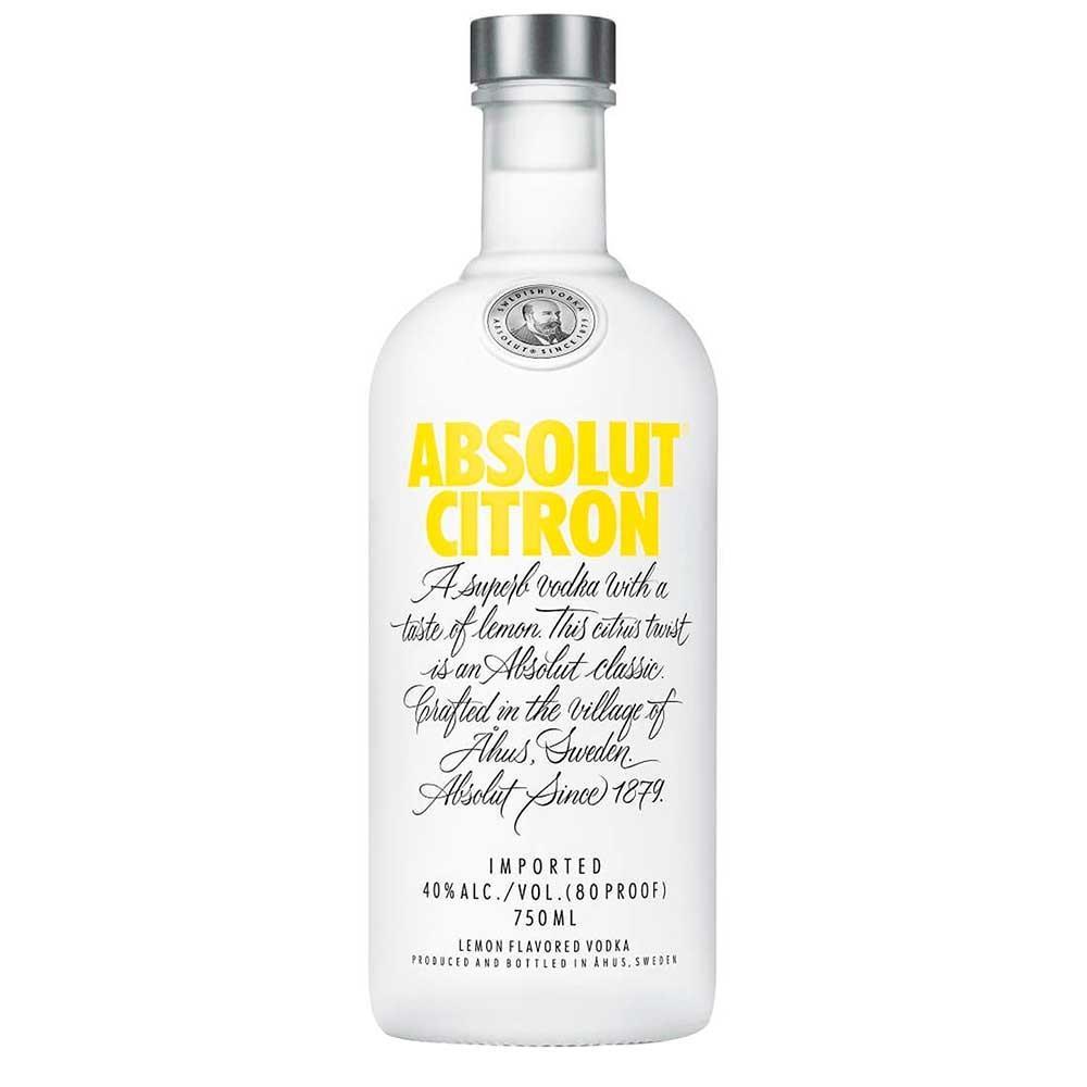 Vodka Sueca Citron Garrafa 750ml - Absolut