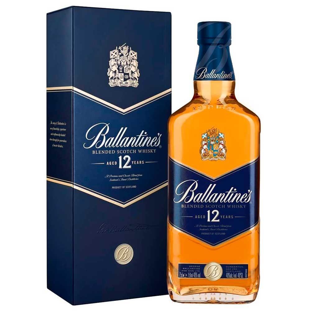 Whisky Escocês 12 Anos Garrafa 750ml - Ballantine's