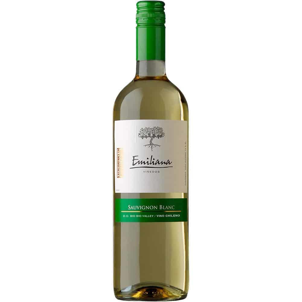 Vinho Chileno Sauvigon Branco Garrafa 750ml - Emiliana