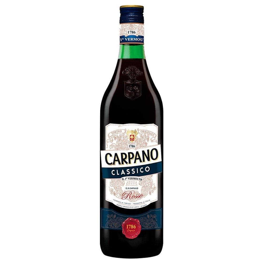 Vermouth Italiano Clássico Garrafa 1 Litro - Carpano