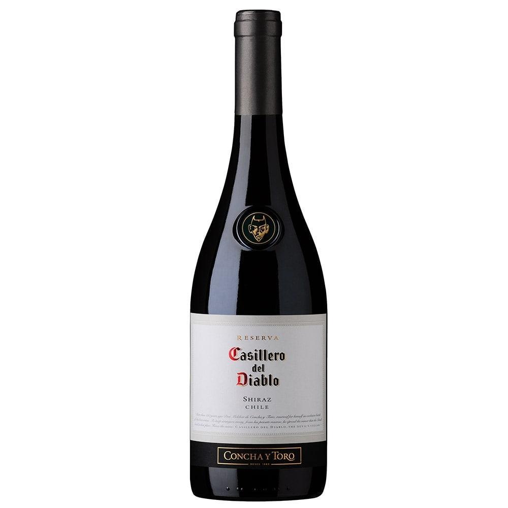 Vinho Chileno Casillero Del Diablo Shiraz Tinto Seco Garrafa 750ml - Concha Y...