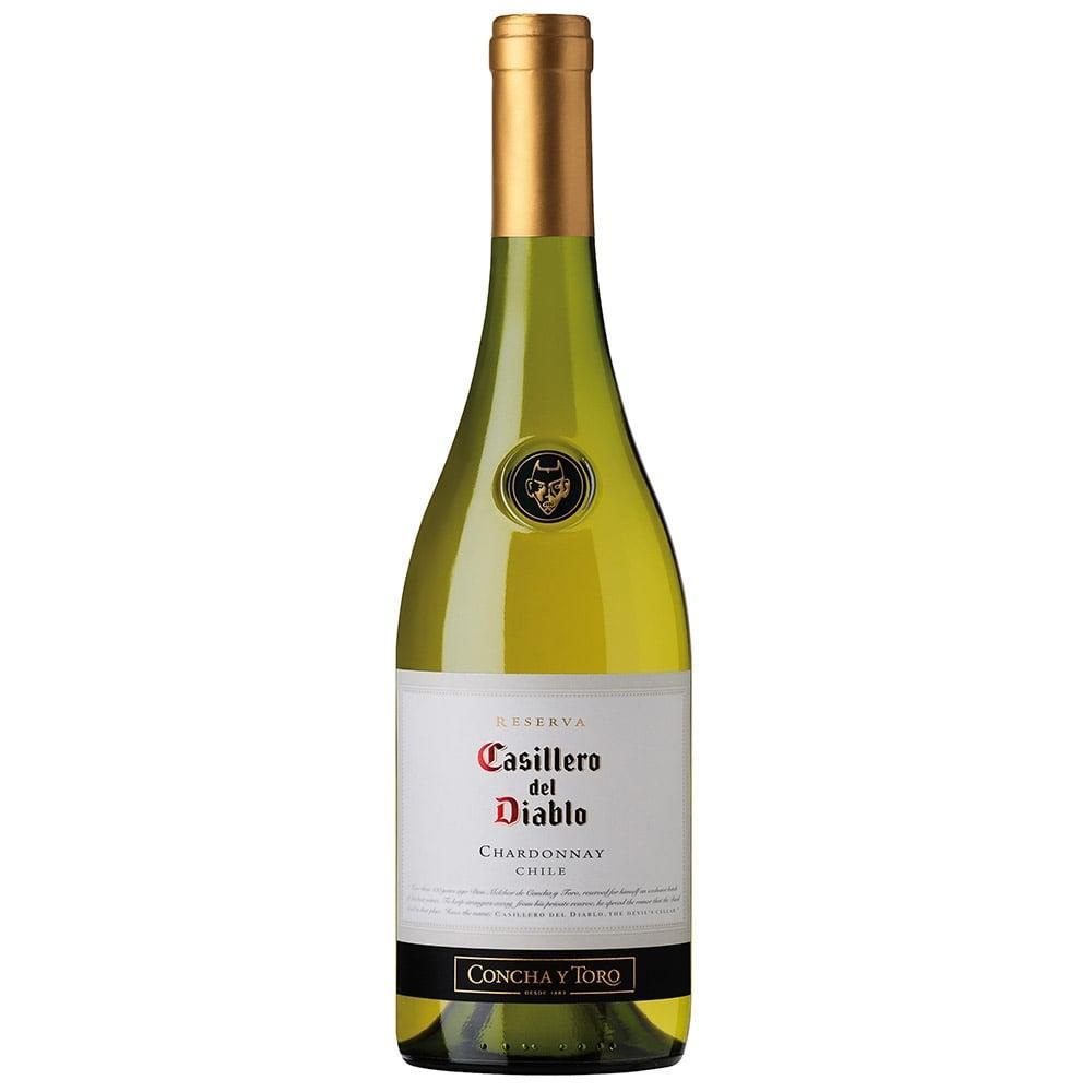 Vinho Chileno Casillero Del Diablo Chardonnay Branco Garrafa 750ml - Concha Y...