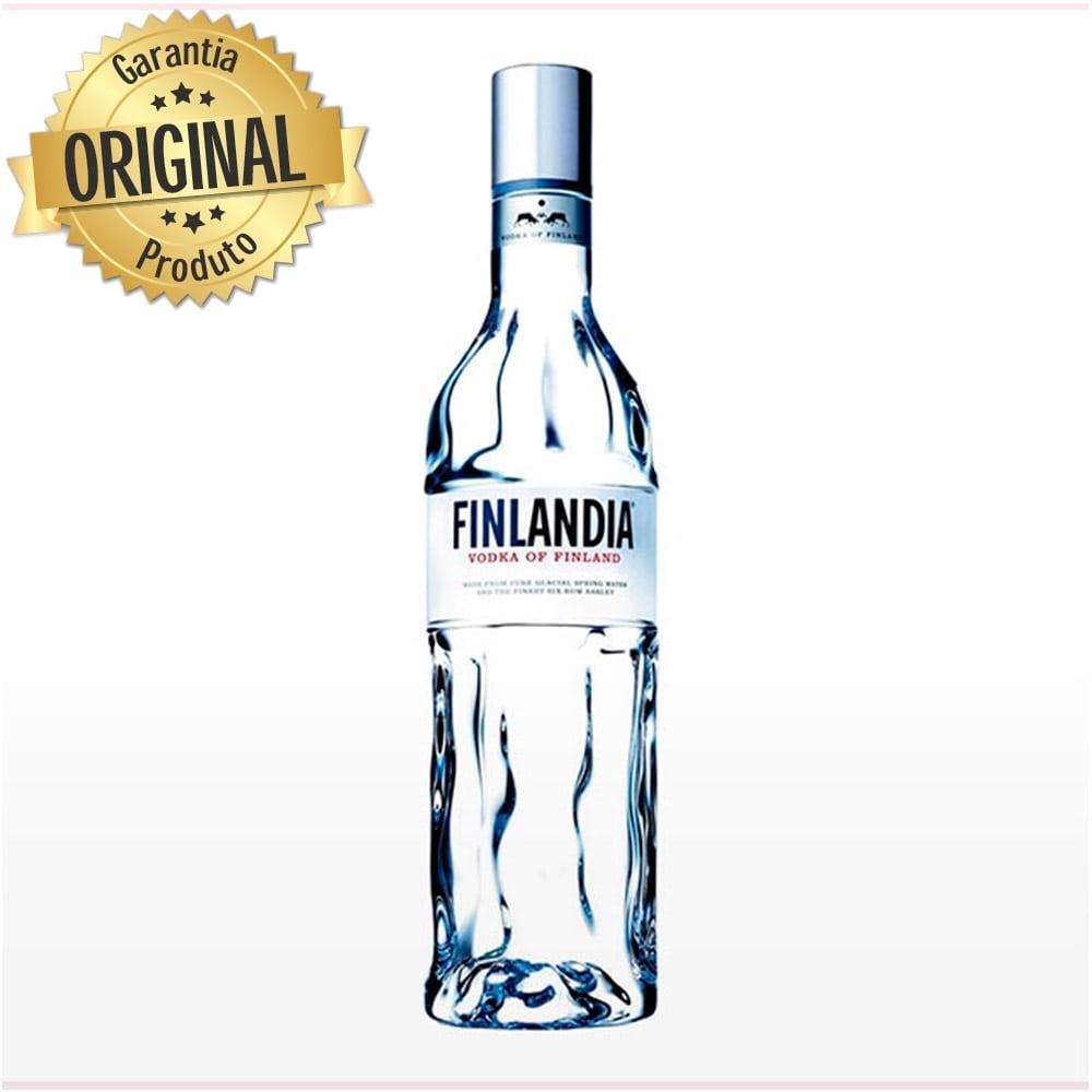 Vodka Finlandesa Classc Garrafa 1 Litro - Finlândia